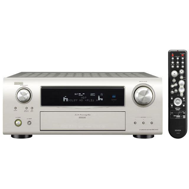 [AVC-3310] DolbyTrueHD/DTS-HD Master Audio対応の7.1ch AVアンプ(プレミアムシルバー)。価格は126,000円(税込)