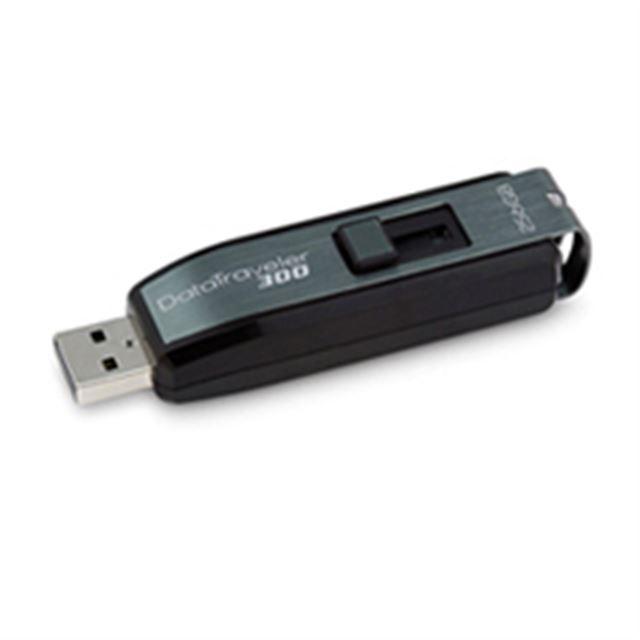 [DataTraveler 300 DT300/256GB] Windows ReadyBoostに対応したPassword Traveler搭載USBメモリー(256GB)。価格はオープン