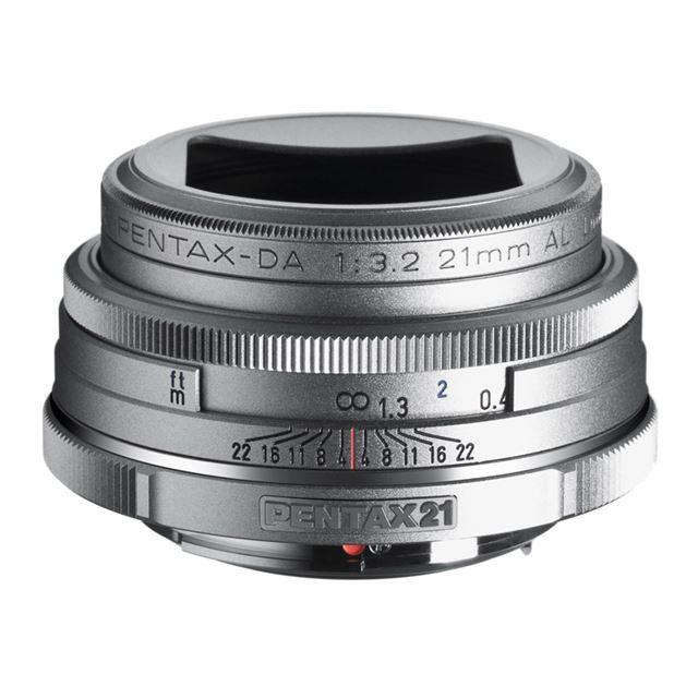 [smc PENTAX-DA 21mmF3.2AL Limited Silver]