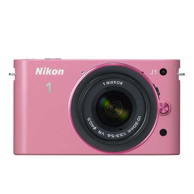 ミラーレス一眼カメラ「Nikon 1 J1」