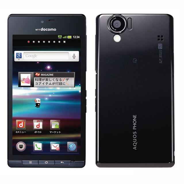 docomo with series AQUOS PHONE SH-01D