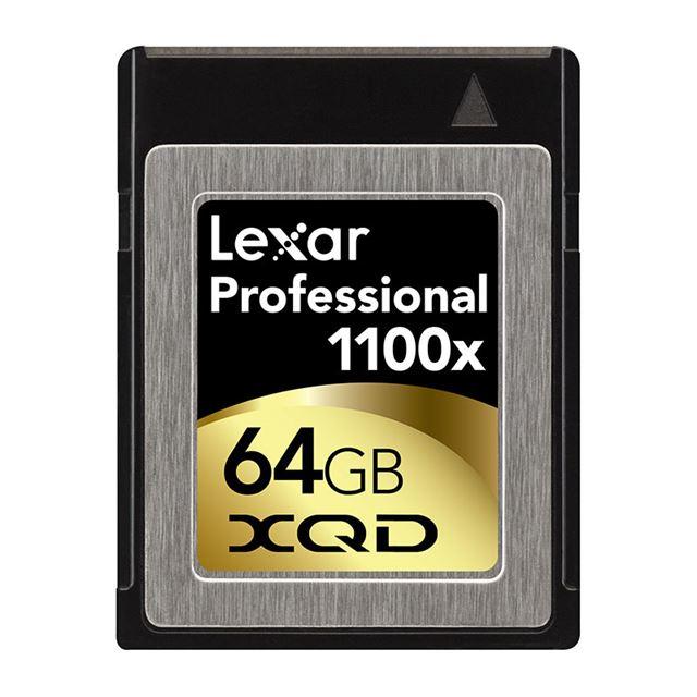プロフェッショナル1100倍速XQDカード 64GB