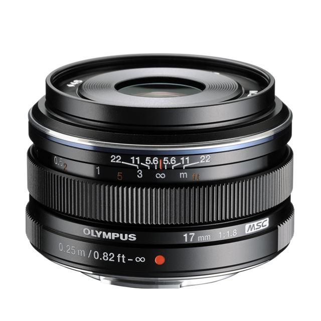M.ZUIKO DIGITAL 17mm F1.8(ブラック)