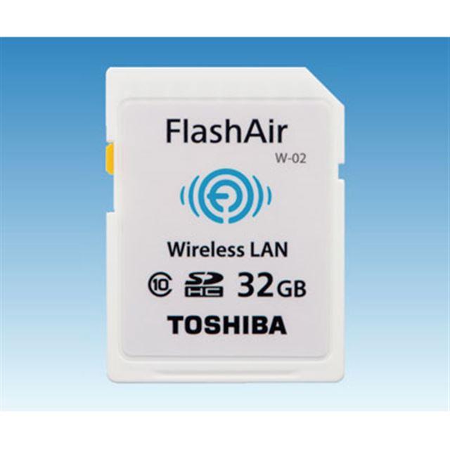 FlashAir W-02 SD-WD032G