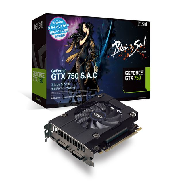 ELSA GeForce GTX 750 S.A.C B&S