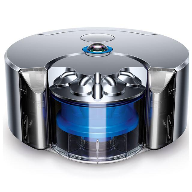 ダイソン Eye 360 ロボット掃除機 ニッケル/ブルー