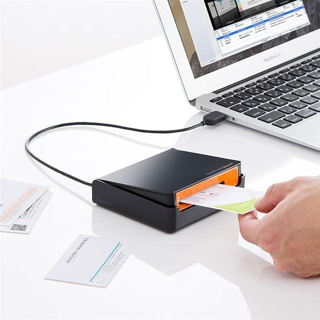 USB 名刺管理スキャナ 400-SCN005N