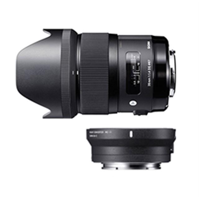 SIGMA 35mm F1.4 DG HSM   Art + SIGMA Mount Converter MC-11キット