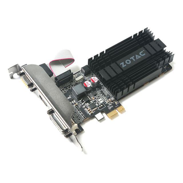 ZOTAC GeForce GT 710 ZONE Edition 1GB DDR3 LP