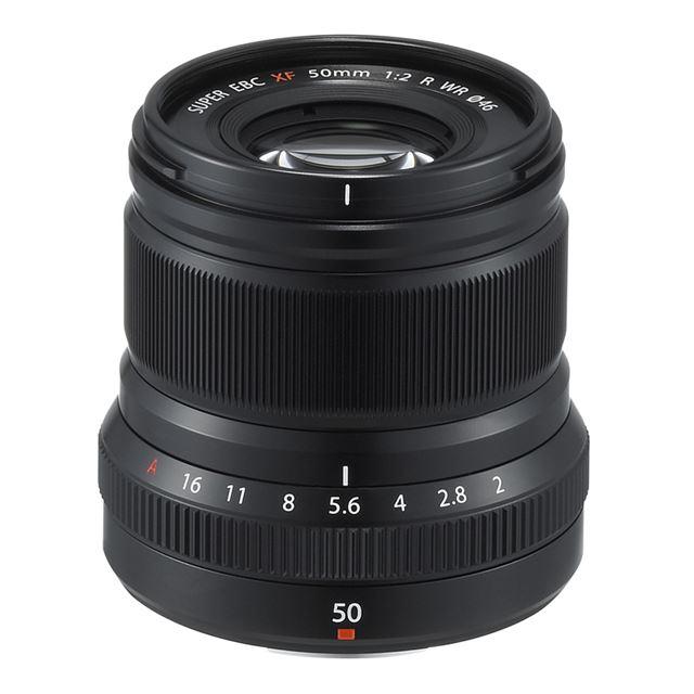 「XF50mmF2 R WR」イメージ(ブラック)