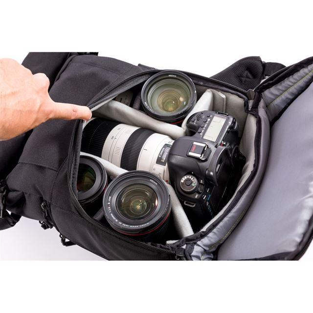 Endurance カメラバッグ Ext(エクステンド)コンパクト&多機能 リュックタイプ