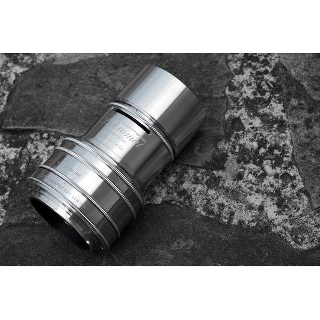 「Lomography Daguerreotype Achromat 2.9/64 Art Lens Brass, Chrome Plated