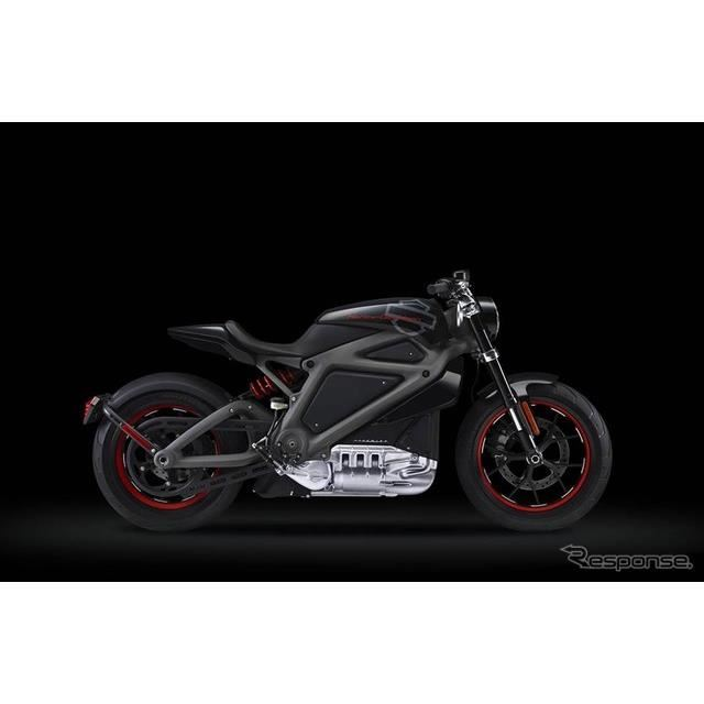 ハーレー・ダビッドソンが2014年に発表した電動バイクのコンセプトモデル、プロジェクト・ライブワイヤー
