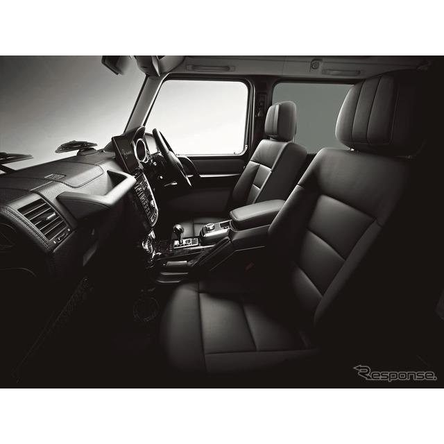 メルセデスベンツ G350d ヘリテージエディション(インテリア)