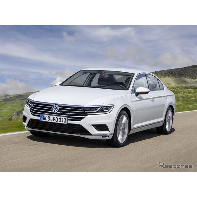VW パサート 改良新型 予想レンダリングCG