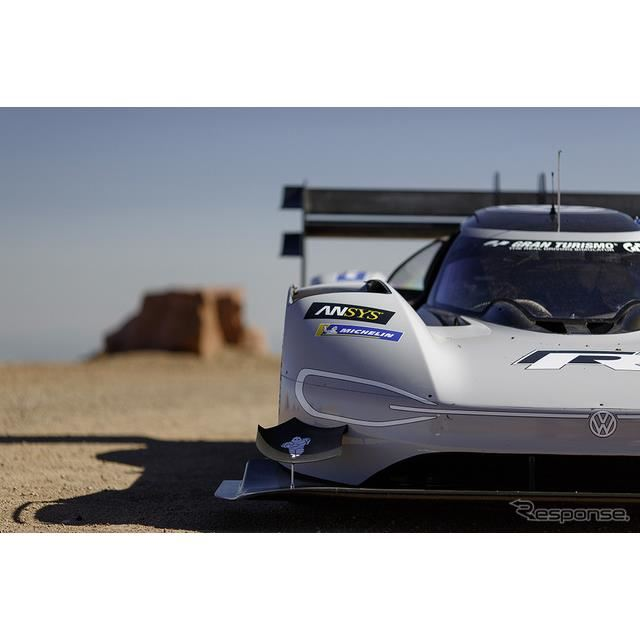 VWのEVレーサー、20分以内に充電できる急速チャージャー開発…パイクスピーク2018