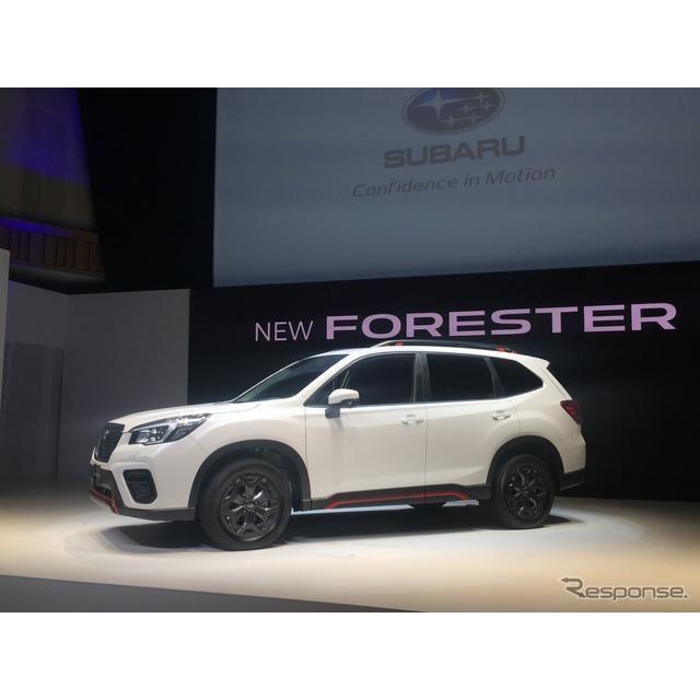 スバル・フォレスター新型