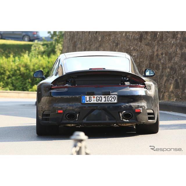 ポルシェ 911 GTS 次期型スクープ写真