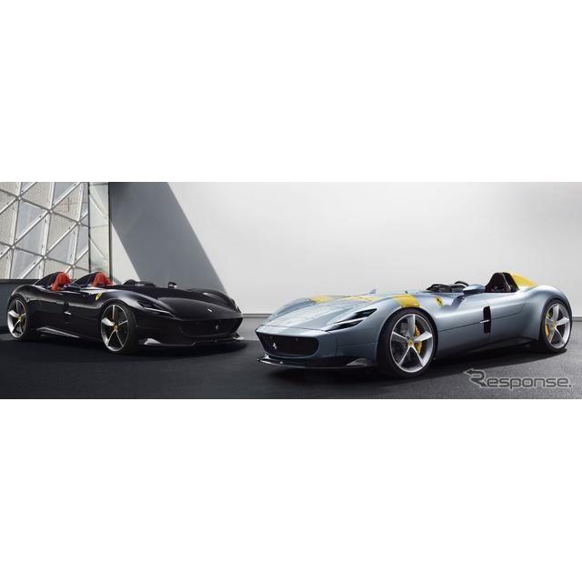 フェラーリ・モンツァ SP2 とモンツァ SP1