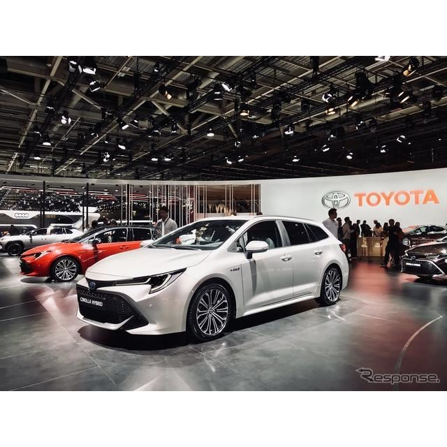 トヨタ カローラ ツーリング スポーツ 新型(パリモーターショー2018)