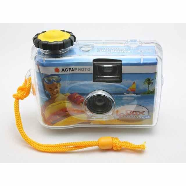 「防水カバー付きインスタントカメラ AgfaPhoto(アグファフォト)LeBox 35mm」