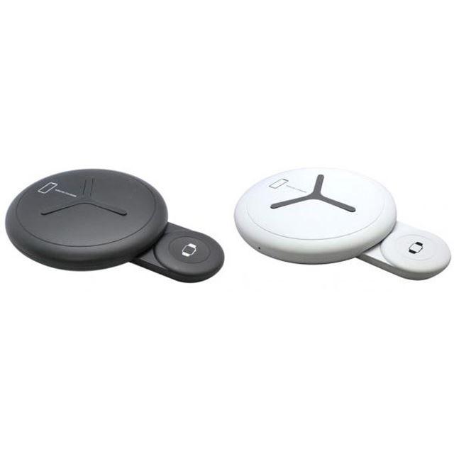 スマートフォン&AppleWatch デュアルワイヤレスチャージャー