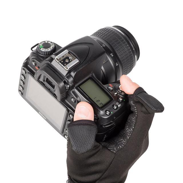 「カメラマングローブ Grip Hot Shot III」