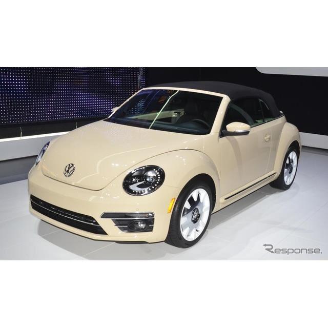 VW ザ・ビートル のファイナルエディション(ロサンゼルスモーターショー2018)