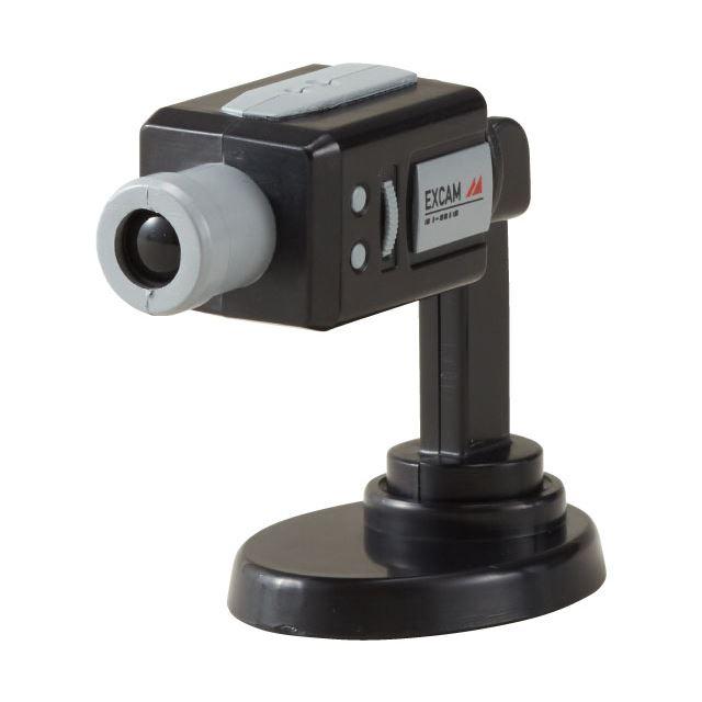 監視カメラ 吸盤&マスコット