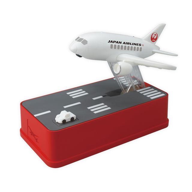飛行機貯金箱 JALバージョン