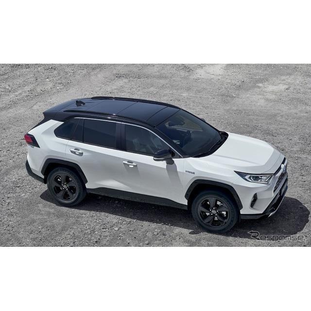 トヨタRAV4ハイブリッド 新型(欧州仕様)