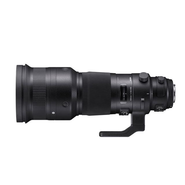 ※画像は「SIGMA 500mm F4 DG OS HSM   Sports」