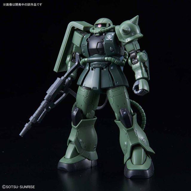「HG 1/144 ザクII C-6/R6型」