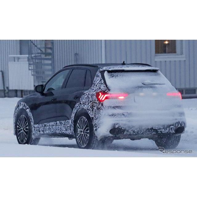 アウディ RS Q3 新型スクープ写真