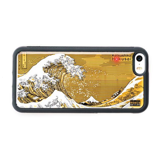 葛飾北斎「神奈川沖浪裏」をデザインした基板iPhoneケース