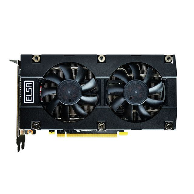 ELSA GeForce RTX 2060 S.A.C GD2060-6GERS