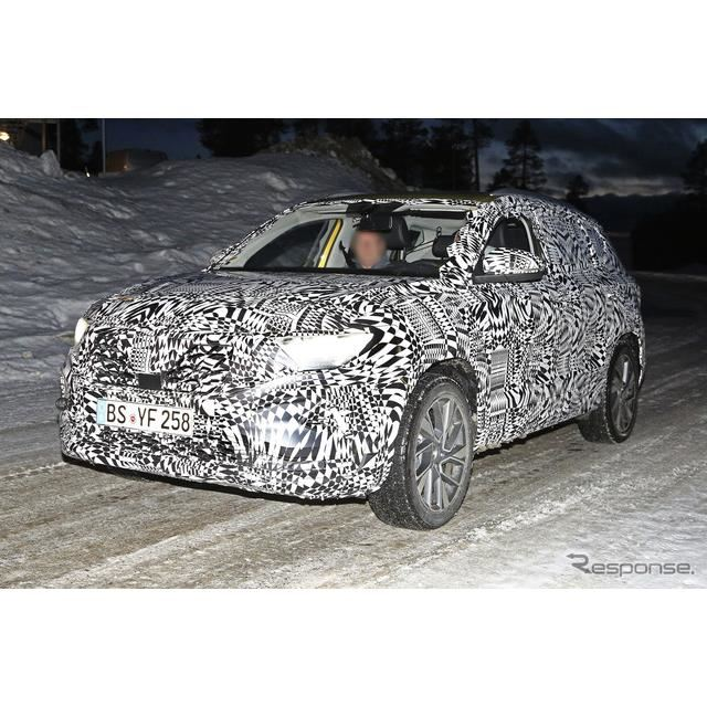 VWの新ブランド「ジェッタ」SV5 スクープ写真