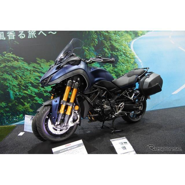ヤマハ発動機ブース(東京モーターサイクルショー2019)