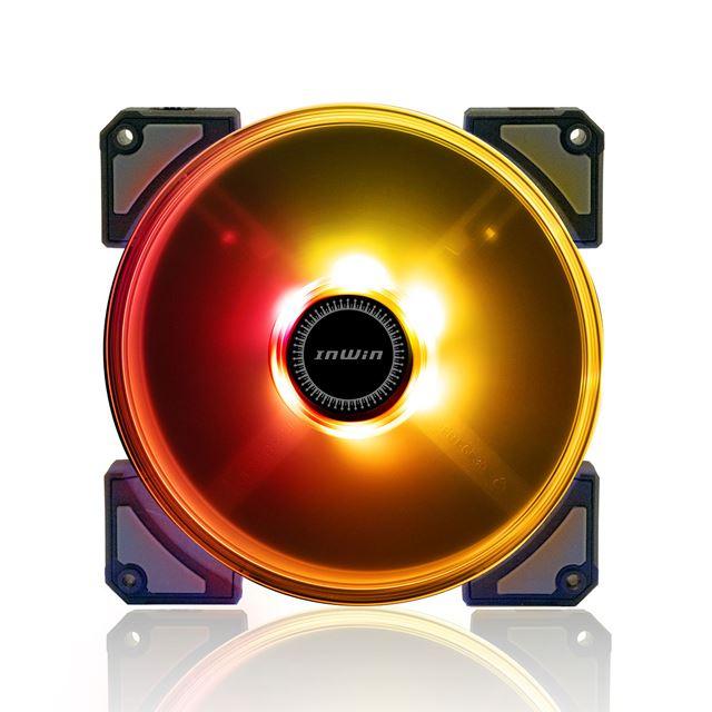 アドレサブルRGB LED搭載 120mmケースファン「CROWN」