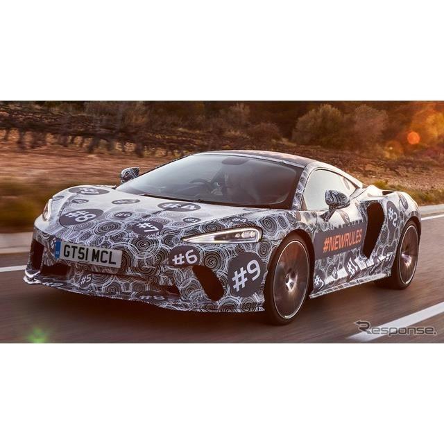 マクラーレンの新型スーパーカー、グランドツアラー(仮称)の開発プロトタイプ