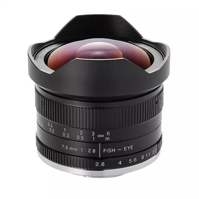「7artisans 7.5mm F2.8 Fish-eye II」