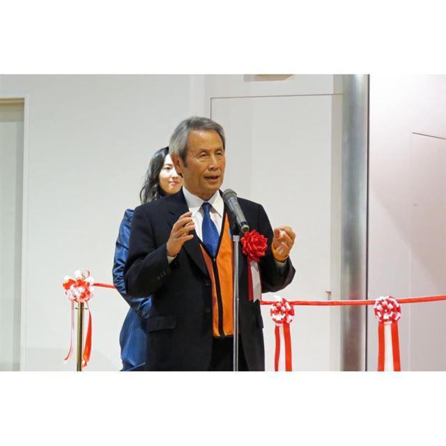 セレモニーでは長久手市長の吉田一平氏もあいさつし、発展する長久手市の現状や、トヨタ博物館の地域...