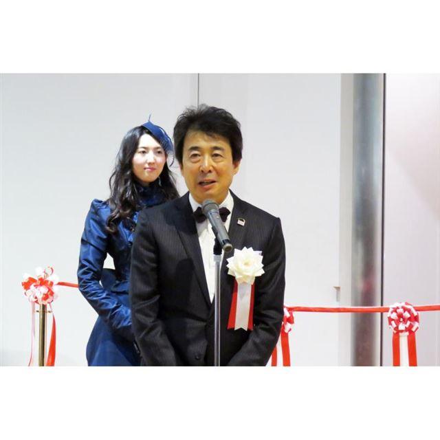 トヨタ博物館の布垣直昭館長。
