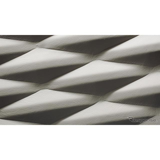 ベントレー・フライングスパー 新型の世界初の3Dレザー内装