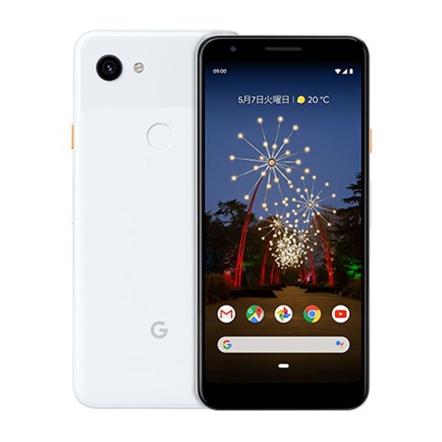 「Google Pixel 3a」Clearly White