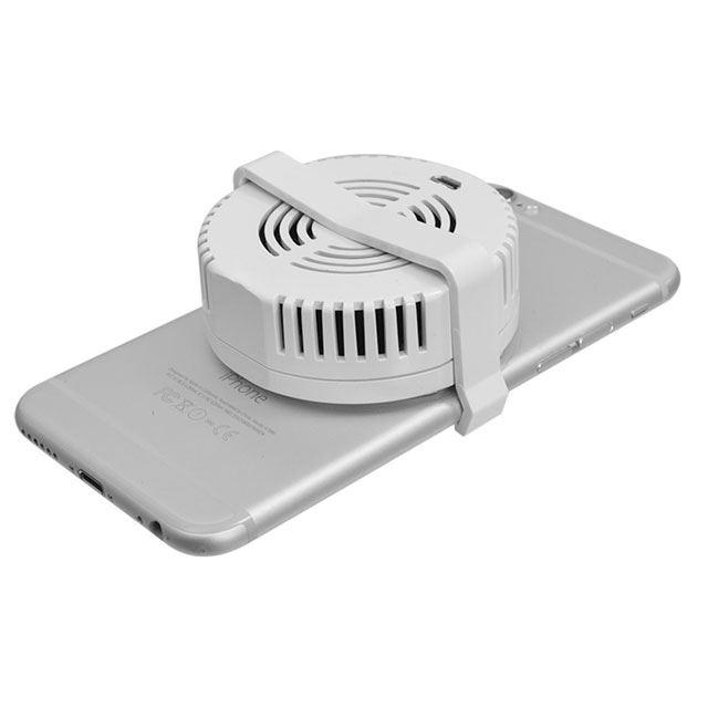 サンコー、スマホに直接貼り付けられる冷却クーラー「スマクールパッド」