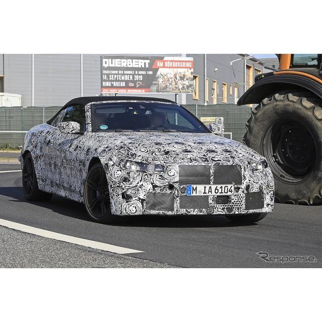 BMW M4 カブリオレ スクープ写真