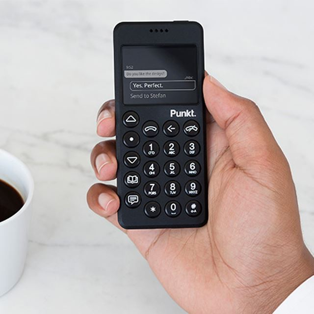 「Punkt. MP02 4G Mobile Phone」