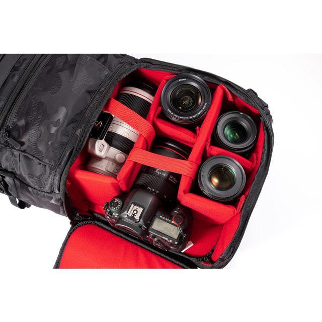 ビーハーフ、中原一雄氏コラボの「Endurance カメラバッグ HG」に新色追加