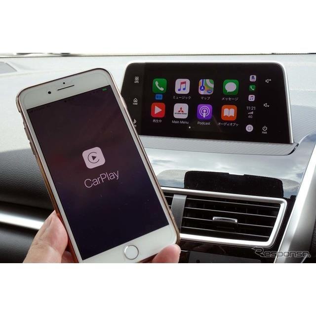 iPhoneのCarPlayのほか、Android Autoにも対応する